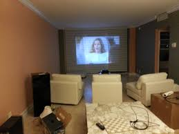 projector in 1 bedroom apartment in living room avs forum home