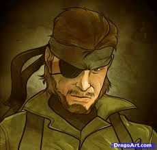 how to draw metal gear solid metal gear solid solid snake step