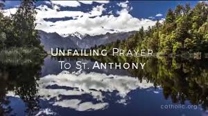 unfailing prayer to st anthony hd