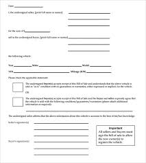 car bill of sale templates 8 download free documents in pdf word
