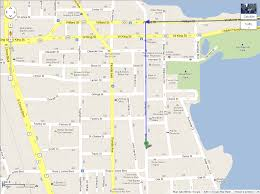 Coco Beach Florida Map by Awareness Center Maps