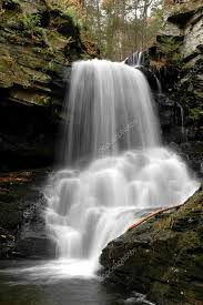 Delaware waterfalls images Waterfalls delaware watergap national recreation area pa stock jpg