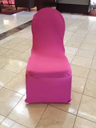 Pink Chair Covers Spandex Covers Brown U0026 Co Chair Covers