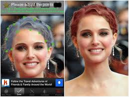 virtual hair colour changer 4 top free hairstyle apps for iphone and android female