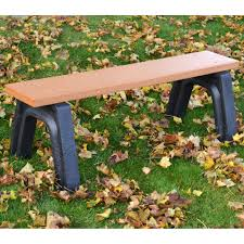polly products park classic 4 ft commercial grade recycled