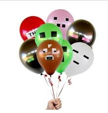 minecraft balloon set 8pk gaming party shop