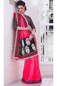 Pink Colour Combination Dresses by 32 Best Designer Sarees Images On Pinterest Designer Sarees