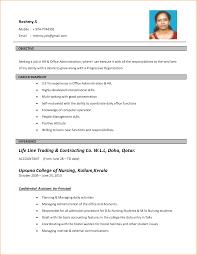 model resume format printable resume templates free