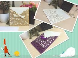 Special Invitation Card New Designs Laser Hollow Invitations Wedding Invitation Card White
