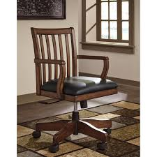 Office Desk With Chair by Home Office Swivel Desk Chair With Slat Back By Signature Design