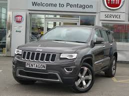 grey jeep grand cherokee 2016 2015 15 jeep grand cherokee 3 0 crd limited plus 5dr auto in grey