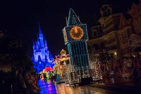 Main Street Lighting Main Street Electrical Parade Ends Run At Walt Disney World On