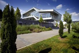 Modern House Color Palette Architecture Exterior Germany Modern Home Decoration Using Brown