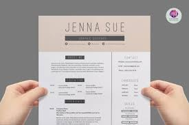 Editable Resume Format Free Download Fascinating Modern Resume Template Cover Letter References Resumes