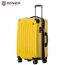 koffer design ginza reise trolley koffer 24 neue design abs pc trolley gepäck