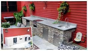 Outdoor Kitchen Island Plans How To Build A Outdoor Kitchen Island Universal Cabinets For
