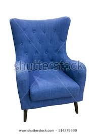 Light Blue Armchair Wood Chair Stock Images Royalty Free Images U0026 Vectors Shutterstock