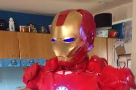 Halloween Iron Man Costume Marvel Fan Spent 11 Months Building Iron Man Suit
