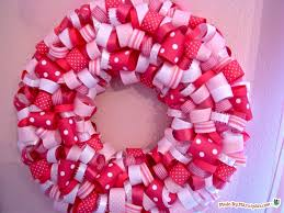 ribbon wreaths ribbon wreath made by marzipan