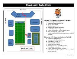Hallway Pass Techniclinic Oakland Technical High