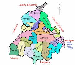 Map Of Punjab India by Electoral Rolls