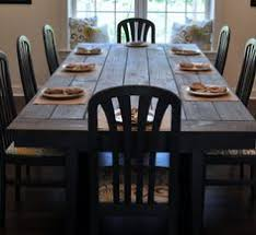 free farmhouse table plans 100 dining table plans planspin com