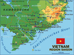 World Map Vietnam by Ho Chi Minh City Map Travel Map Vacations Travelsfinders Com