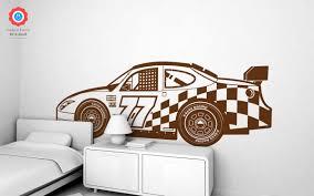 Racing Car Xxl Wall Decal Nursery Kids Rooms Wall Decals Boy
