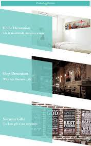 2017 new custom design art minds wall plaque home decor wooden