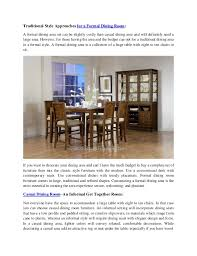 types of dining room tables types of dining room and sensational decoration ideas