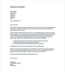 Substitute Teacher Job Description For Resume Create A Good Teacher Cover Letter