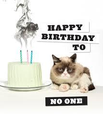 Grumpy Cat Meme Happy Birthday - birthday grumpings giveaway chronicle books blog