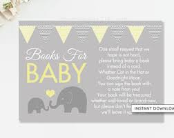 Books Instead Of Cards For Baby Shower Poem Bring A Book Card