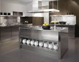 edelstahl küche moderne küchen aus edelstahl und klassische metall akzente