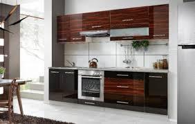 küche möbel küche möbel hochglanz ebenholz und schwarz 8tlg 2 60m neu
