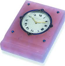 pendule de bureau la cote des montres enchères pendule de bureau cartier no
