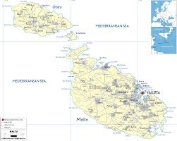 Canada And Usa Map by Diagram Of Malta Road Map Download More Maps Diagram And Malta