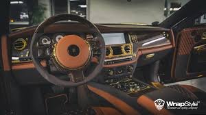 gold rolls royce royal rolls royce phantom by mansory and wrapstyle on mycarid
