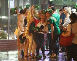 revellers around the world celebrate st patrick u0027s day daily mail