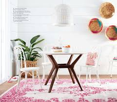 Threshold Aqua Peach Birds Floral New Target Home Product And My Picks Emily Henderson