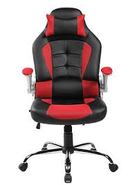 Pc Gaming Desks by Furniture Black And Pink Pu Leather Game Desk Chair With