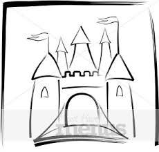 castle clip art kids menu clipart