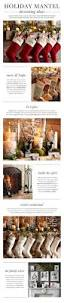 Pottery Barn Christmas Mantel Decorations by 166 Best Pottery Barn Images On Pinterest Home Living Room