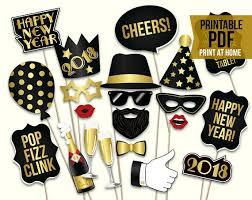 new years party backdrops new years props printable pdf 2018 new years photo