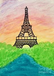 eiffel tower watercolor paintings page 4 of 6 fine art america