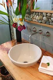 river rock bathroom ideas 36 exles on how to use river rocks in your decor through diy