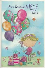 simon elvin cute birthday cards niece clearance price from
