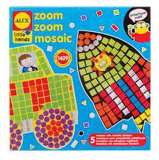 amazon com alex toys little hands zoom zoom mosaic toys u0026 games