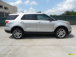 ford 2013 explorer ingot silver metallic 2013 ford explorer xlt exterior photo