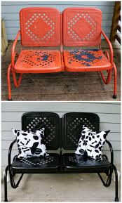Remove Rust From Metal Furniture by Outdoor Furniture Makeovers That Will Blow You Away Crazy Houses